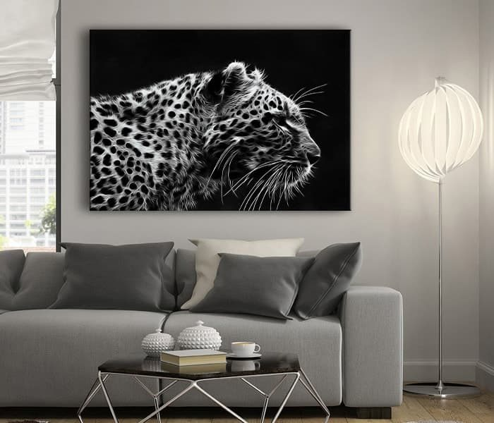 leopar tablo