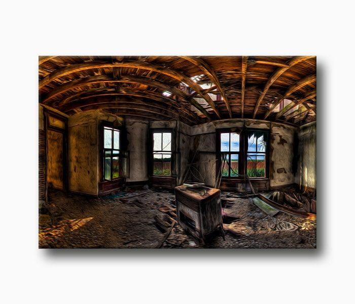 harabe ev Yıkık Fotoğraf
