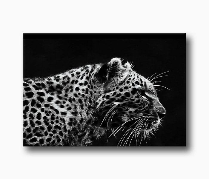 yırtıcı hayvan leopar kanvas tablo