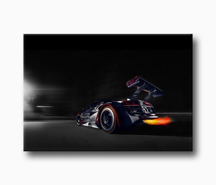 yarış arabası Kanvas Tablo