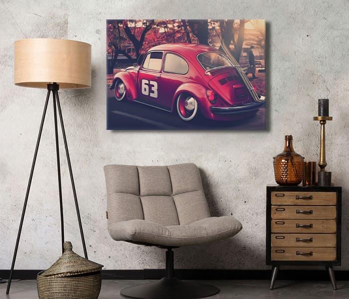 lavi tasarım Volkswagen Beetle 1974