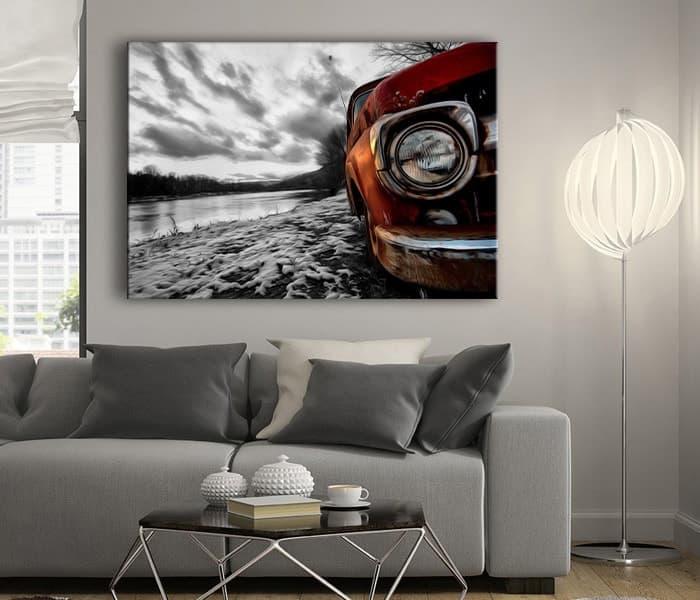 klasik araba fotoğrafları