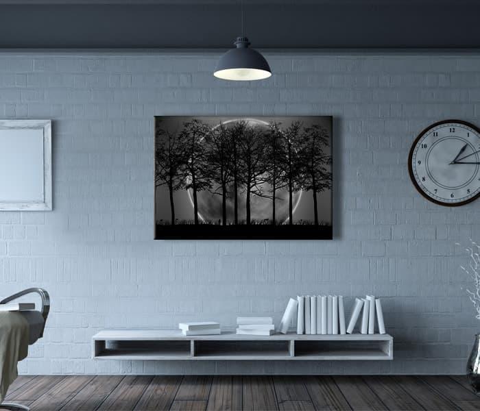 dolunay kanvas tablo