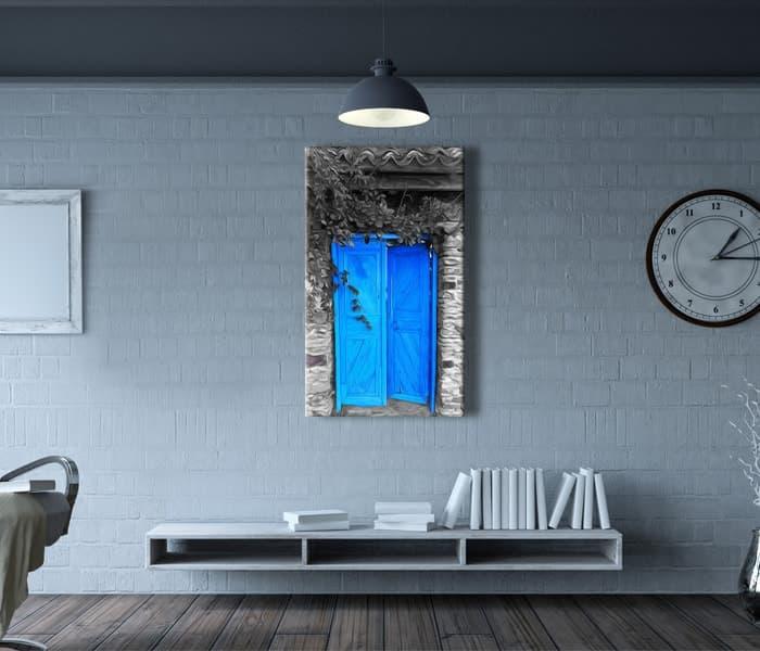 eski ahşap kapı