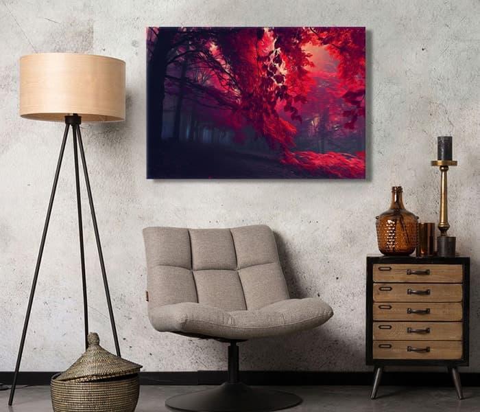 en güzel ağaç tabloları