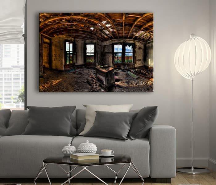 eski ev tablo