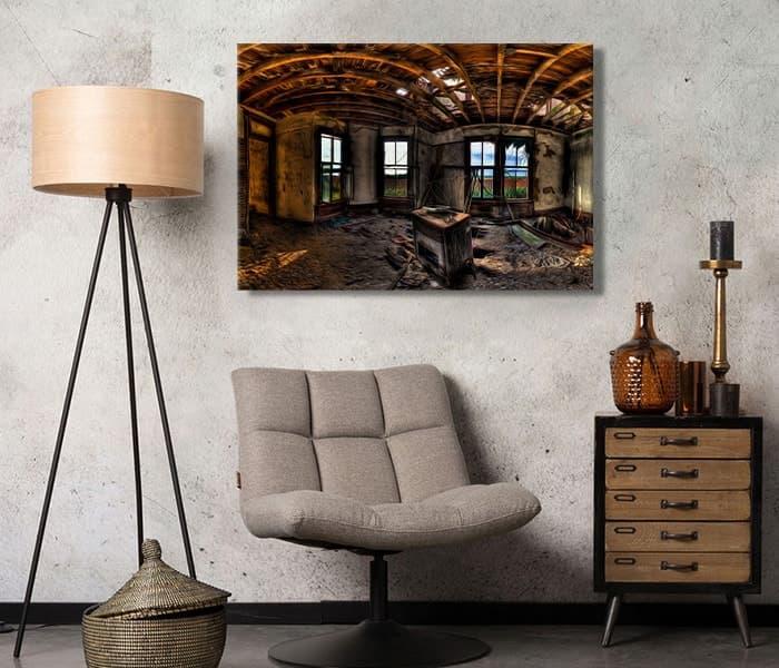 harabe yıkık ev tablo