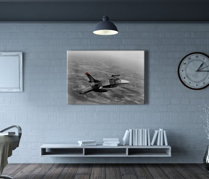 f16 gösteri uçağı solotürk tablo