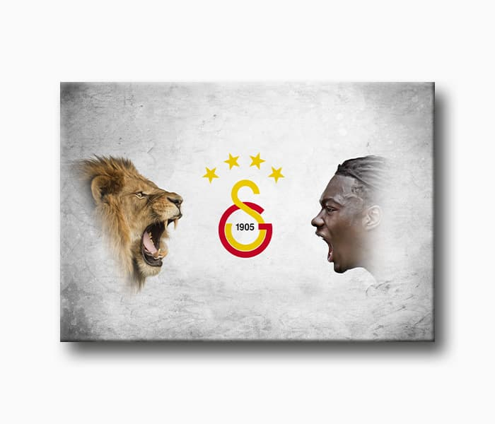 Gomis Galatasaray Kanvas Tablo Taraftar Tablo Lavi Tasarim
