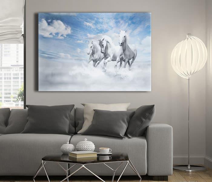 yağlı boya at tablo