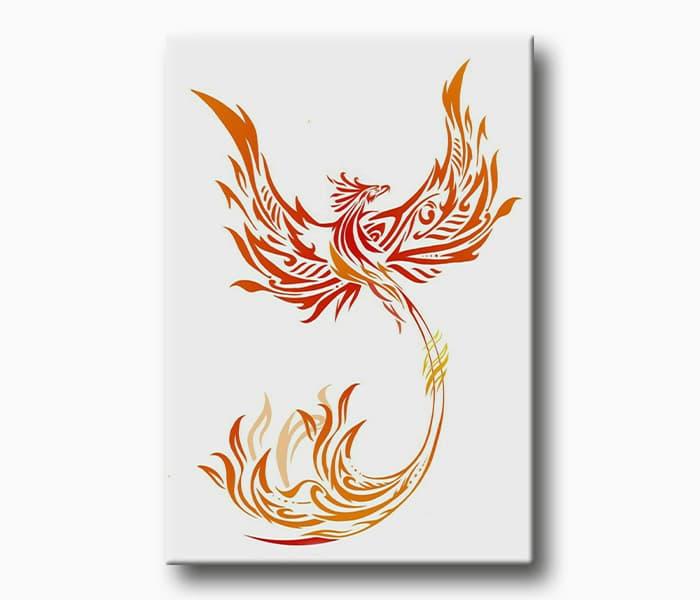 kırmızı anka kuşu