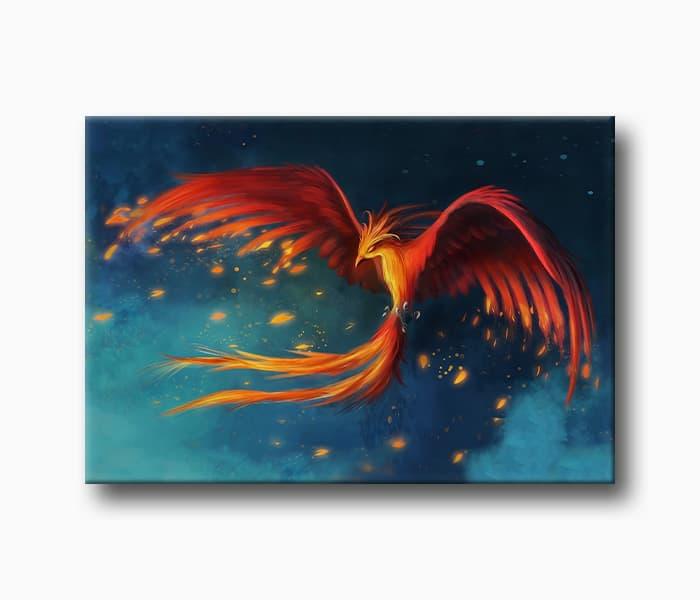 kırmızı ateş kuşu