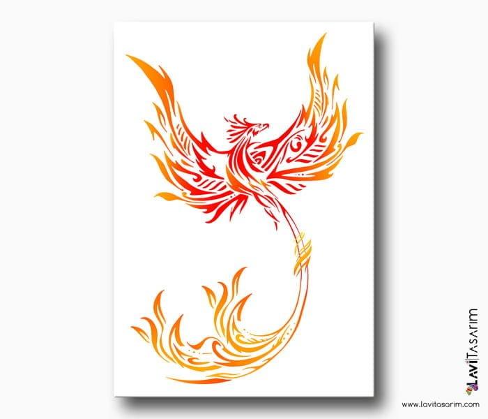 kırmızı anka kuşu feng shui
