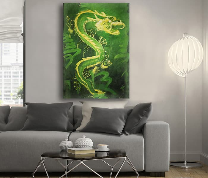 Green Dragon feng shui