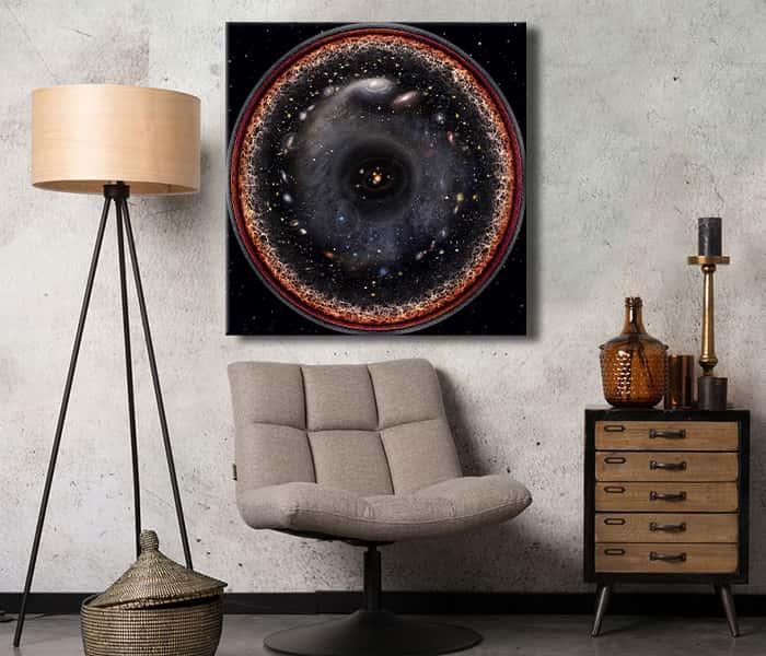 kozmos tablo tüm evren tek kare tablo