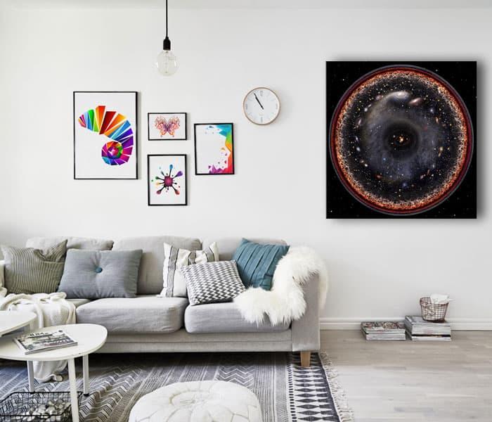 pablo carlos budassi poster satın al,evrenin logaritmik resmi