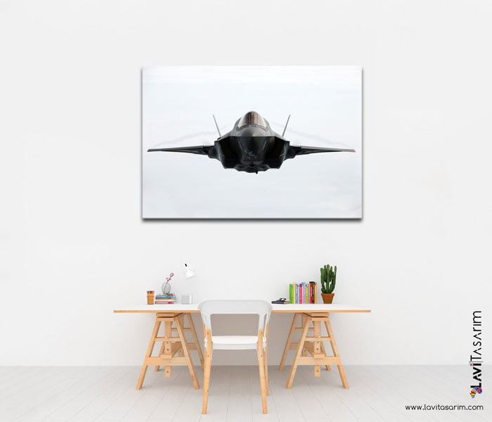 lavi tasarim f-35 kanvas tablo f35 turkey