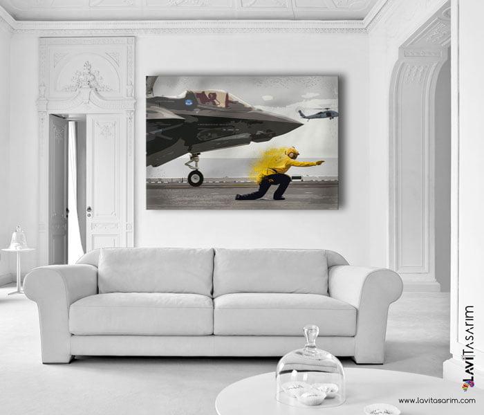 en güzel uçak tablosu nerede f-35 lightning