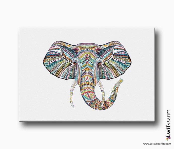 fil kanvas tablo - lavi tasarım