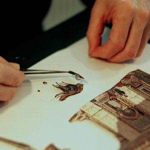 rölyef, lavi tasarım, kaat-ı sanatı, katı sanat, kağıt rölyef
