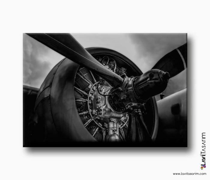 uçak motoru lavi tasarım