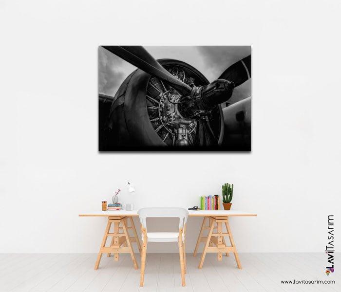 pervaneli uçaklar lavi tasarim