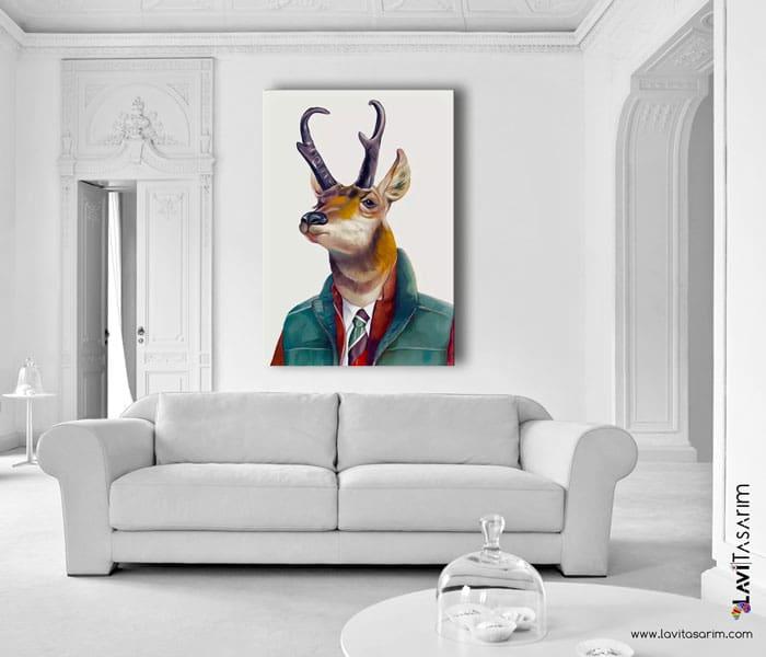 lavi tasarım,amerika antilobu,antilop