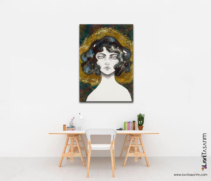 hanımefendi tablo,sürrealist tablolar ve anlamları