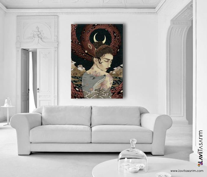 lavi tasarım,sürreal tablolar,sürrealist tablolar