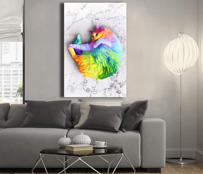kedi tabloları,kedi tablosu satın al,en güzel kedi tabloları