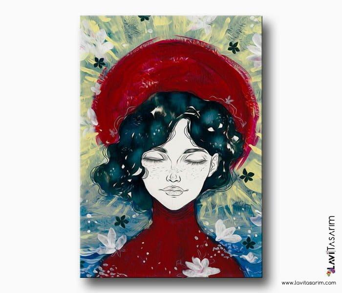 huzurlu kadın