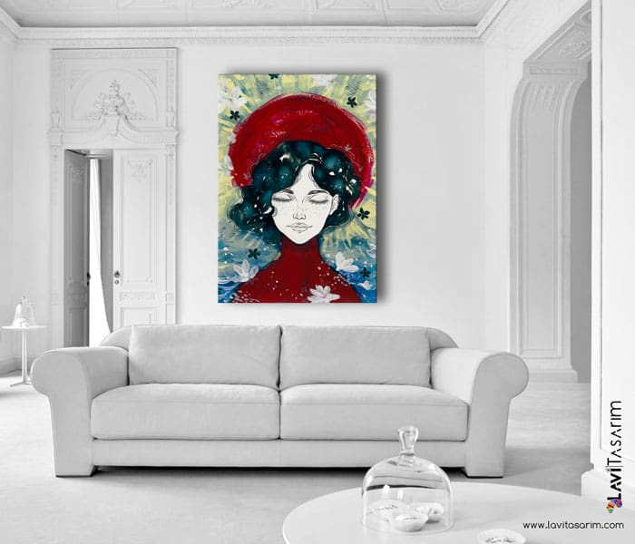lavi tasarım,sürreal tablolar,sürrealist tablolar,sürrealist kanvas tablolar