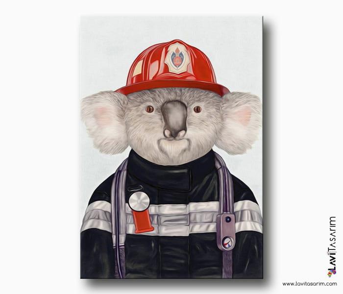 koala kanvas tablo