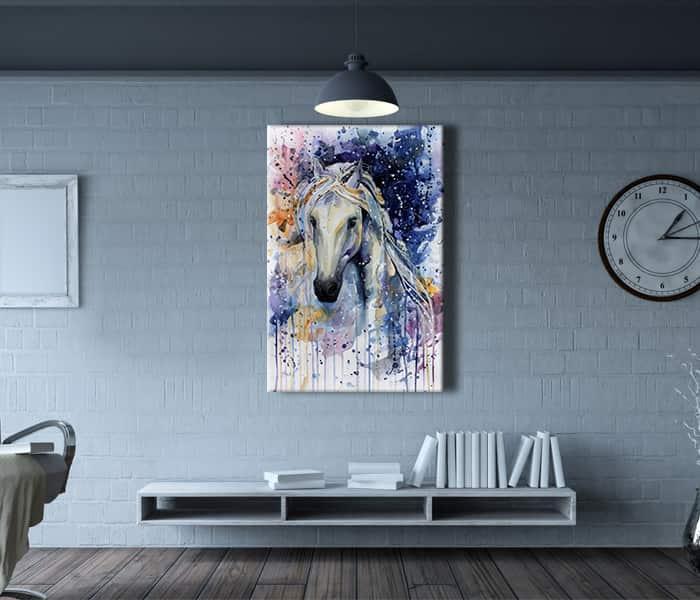 yağlı boya at tabloları,at resimli tablolar,tablo at