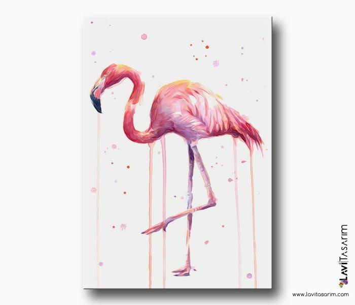 suluboya flamingo tablo