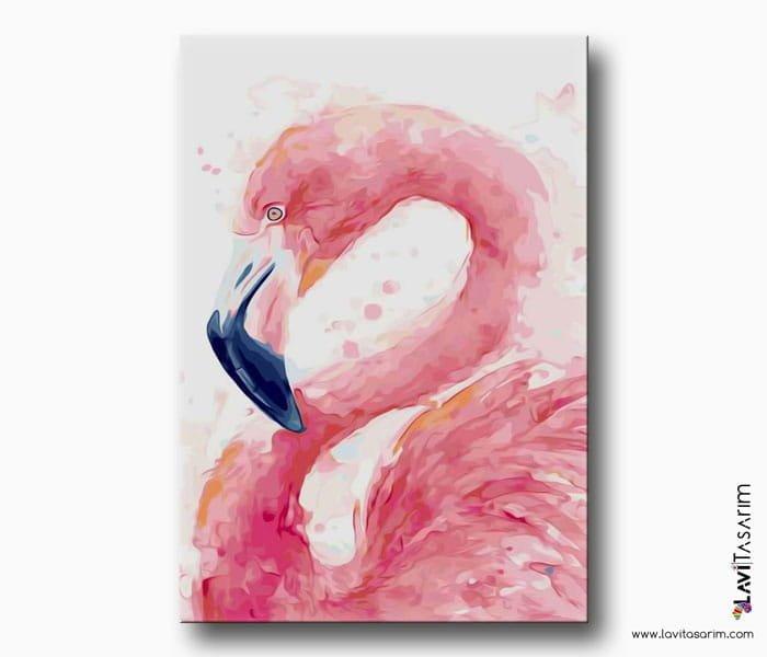 tropikal kuş sanatsal tablo
