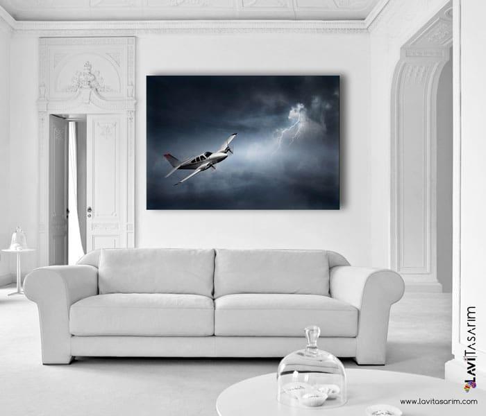 lavi tasarım,uçağa yıldırım düşmesi,yıldırım tablo