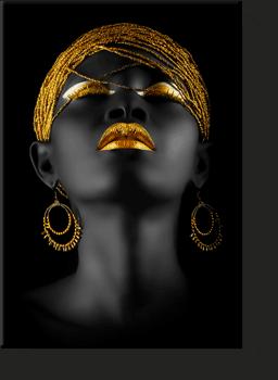 afrikalı kadın yağlıboya tabloları , siyahi kadın kanvas tablo , lavi tasarım , lavi tasarim